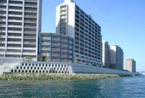 廿日市市海岸阿品海岸高潮対策工事