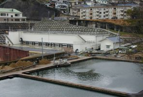 宮原浄水場低区配水池及び 工水沈殿池築造工事