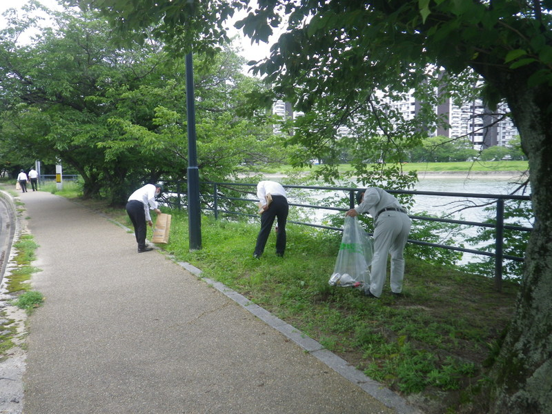 河川清掃R2.7月-1