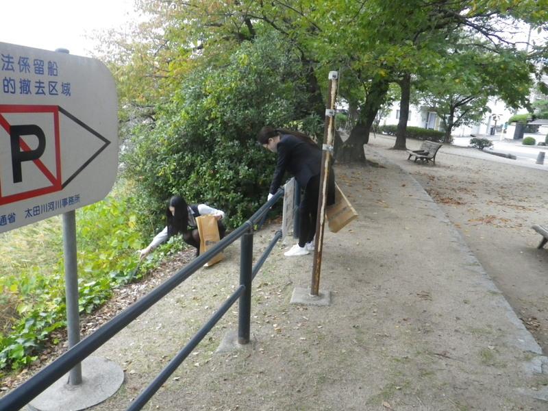 10.21河川清掃