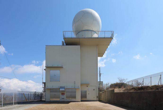 灰ヶ峯気象レーダー 1-1