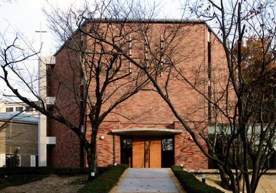 女学院大学チャペル