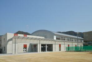 呉港高等学校 体育館建設工事